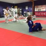 Judo club boos téléthon 2015