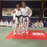 judo boos 76 Camille Bovin ceinture marron